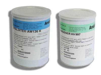 Araldite® AW106(1kg)-HV953U(0,8kg) Turcite®-B yapıştırıcı