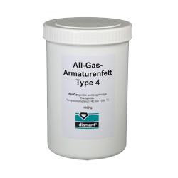 Diamant® - Silikonlu Gaz Valfi Montaj, Yağlama ve Sızdırmazlık Gresi Tip 4 1kg